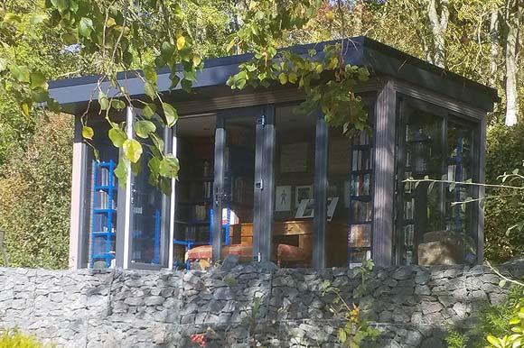 Garden Studio Library Scotland