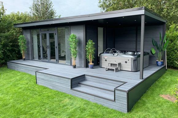 Hot Tub Garden Studio Scotland