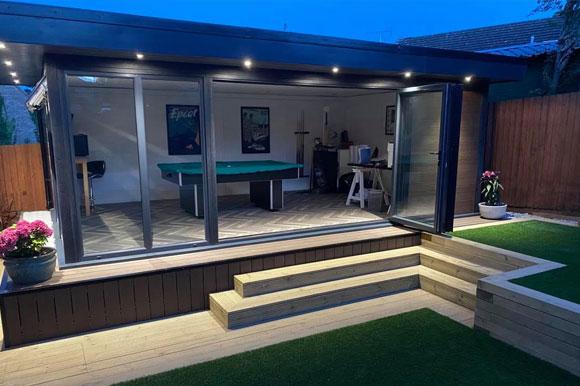 Relaxing Garden Studio Retreats Scotland